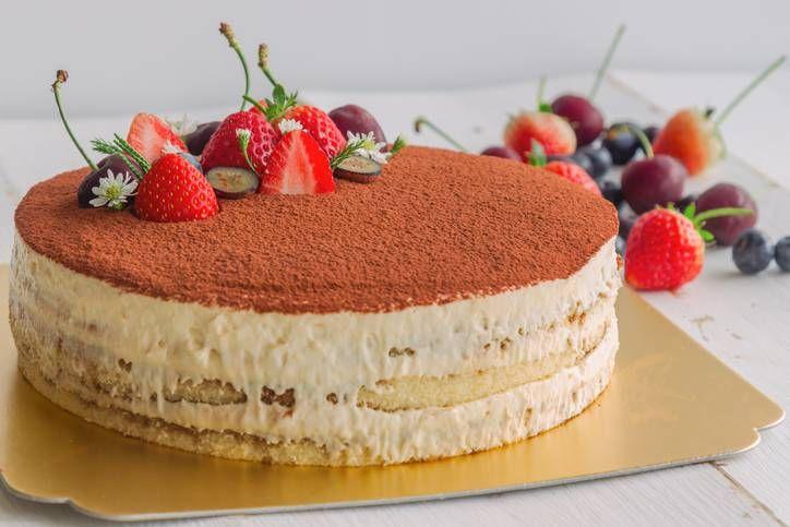 Torta Ripiena Di Crema Al Bayles Cosa Cucino Oggi Ricette Con Foto