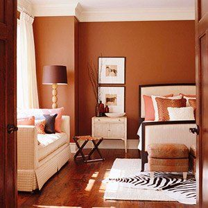 Muted Cinnamon Color 10 This E Is Warmed Up By These Colored Walls They Set