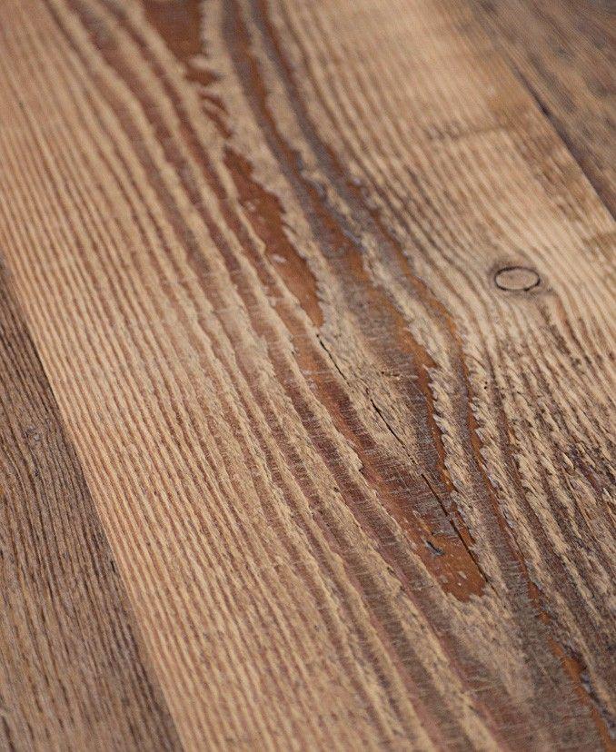 Table Sur Mesure Vieux Bois Pin Blanc  Orme  Frêne Brut Helsinki