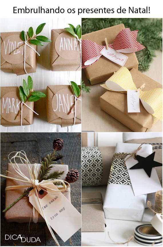 Presentes #embalagem