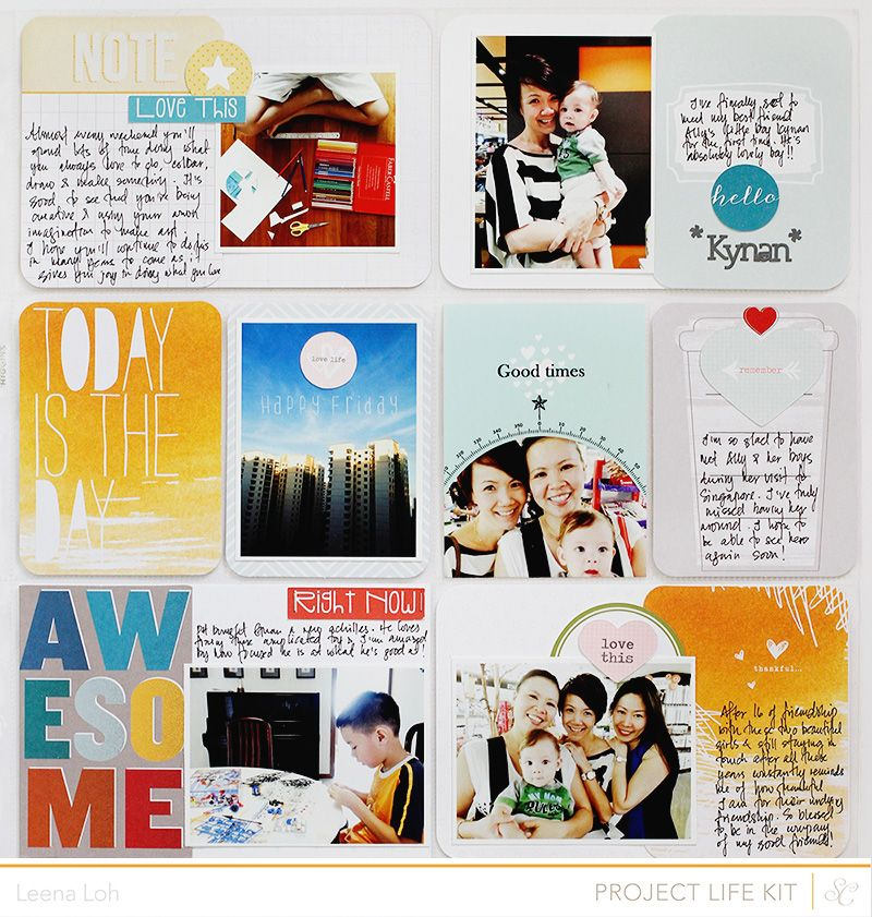 Project Life | Week 15 & Week 18Hey there! I'm back and I can't wait to share my PL spreads with you again. :) With the reveal of Studio Calico Roundabout kits just a few days ago, I've been trying to squeeze some time to come in here but life have been busy as always. Nonetheless, I hope…