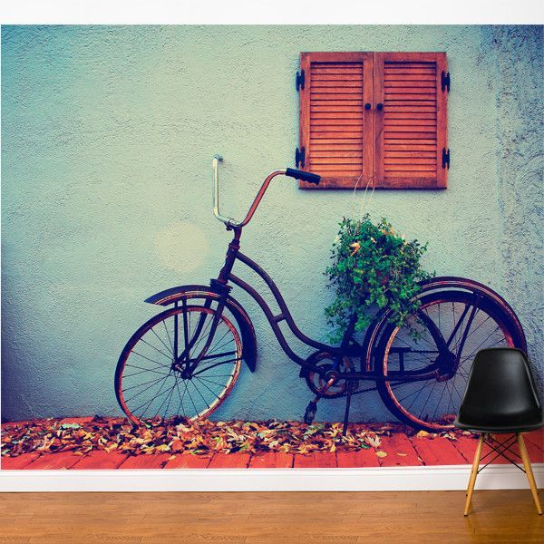 Fresk Retro Bike Wall Mural