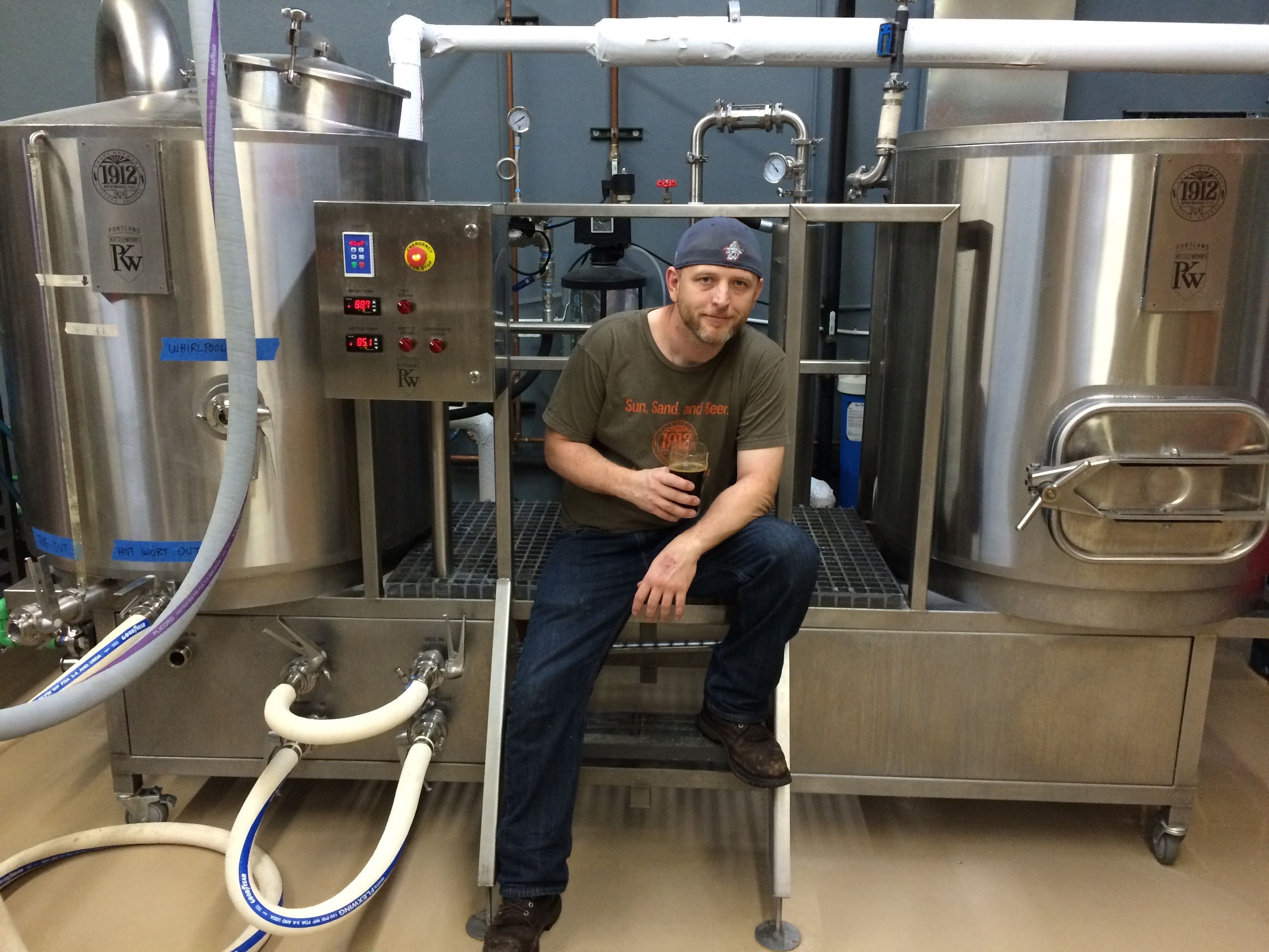 Our friend allan at 1912 brewing in tucson arizona and for Craft kettle brewing equipment