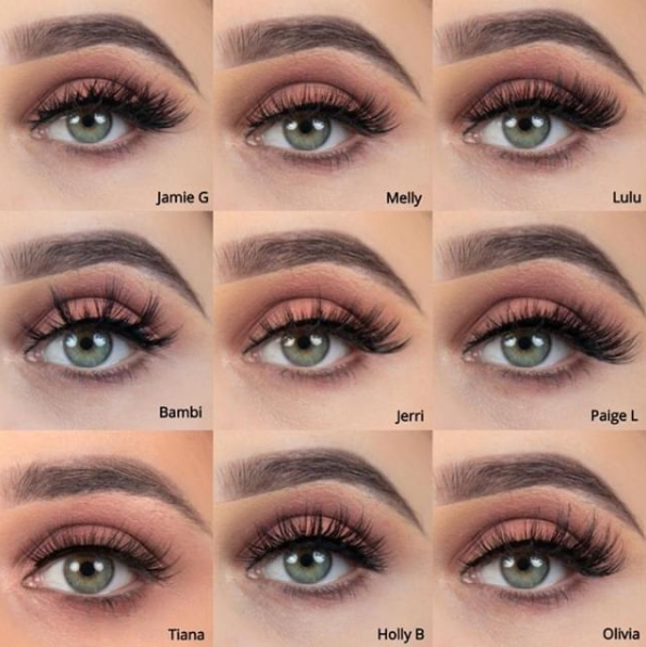 Doll Beauty Lashes In Variety Of Styles Beauty Lash Eyelash Extensions Styles Lashes