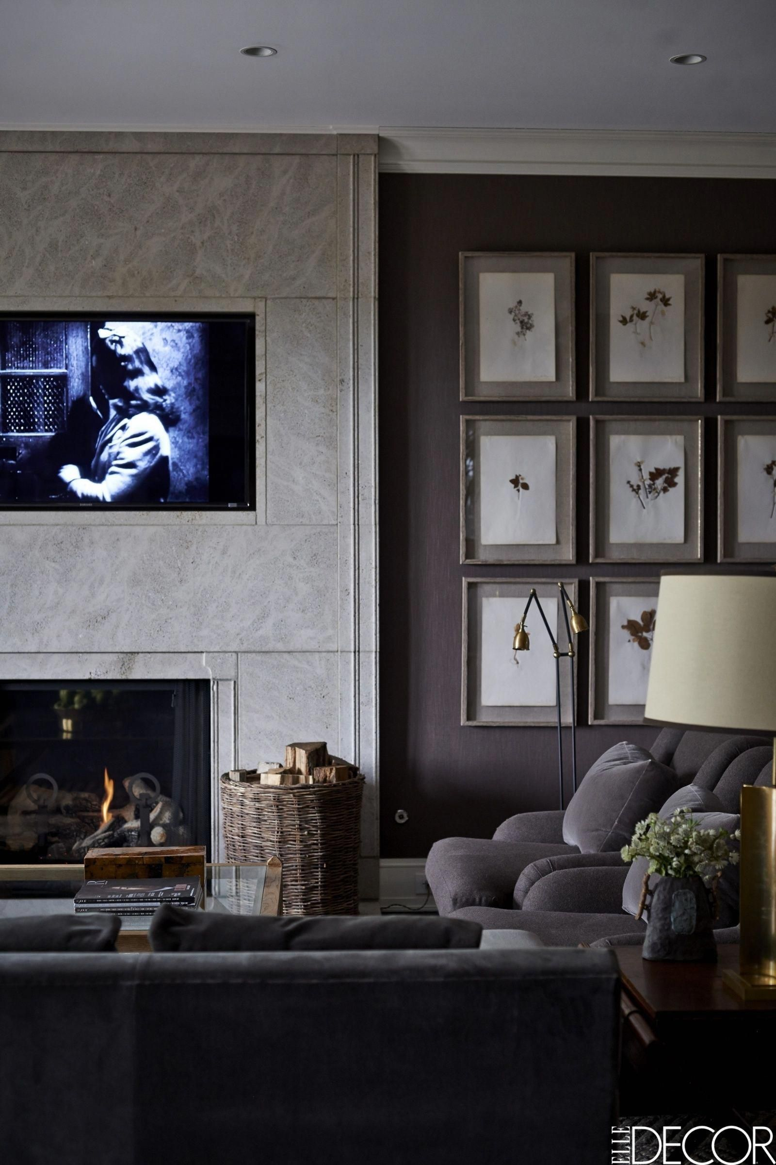 Cozy gray living room livingroomdecor