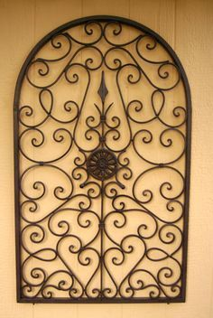 Wrought Iron Wall Decor Large Google Search