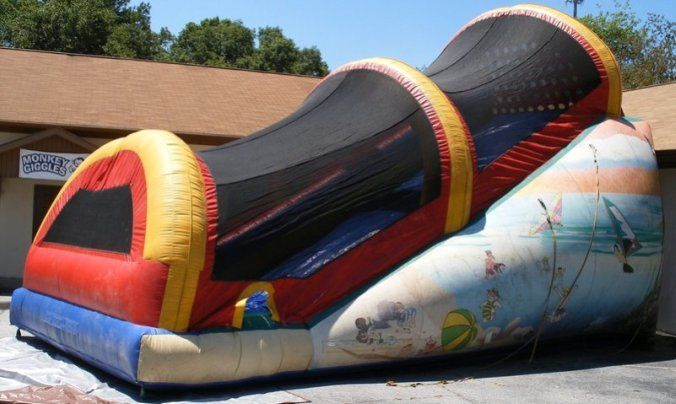 22 Enclosed Slide Bounce House Rentals Bounce House Inflatables