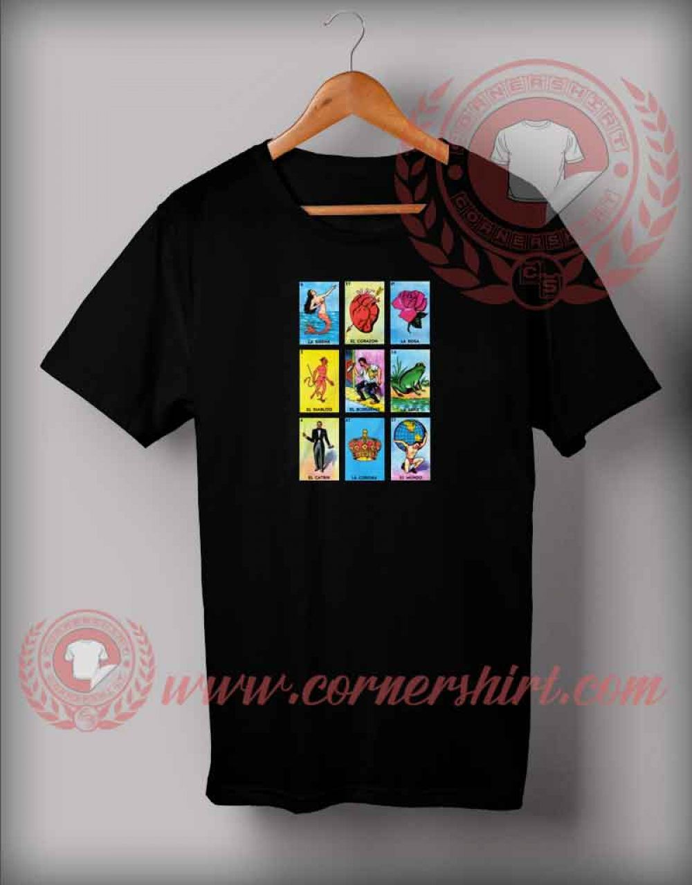 56727875 Mexican Loteria Girl's T shirt in 2019 | Graphic T shirts | Custom ...