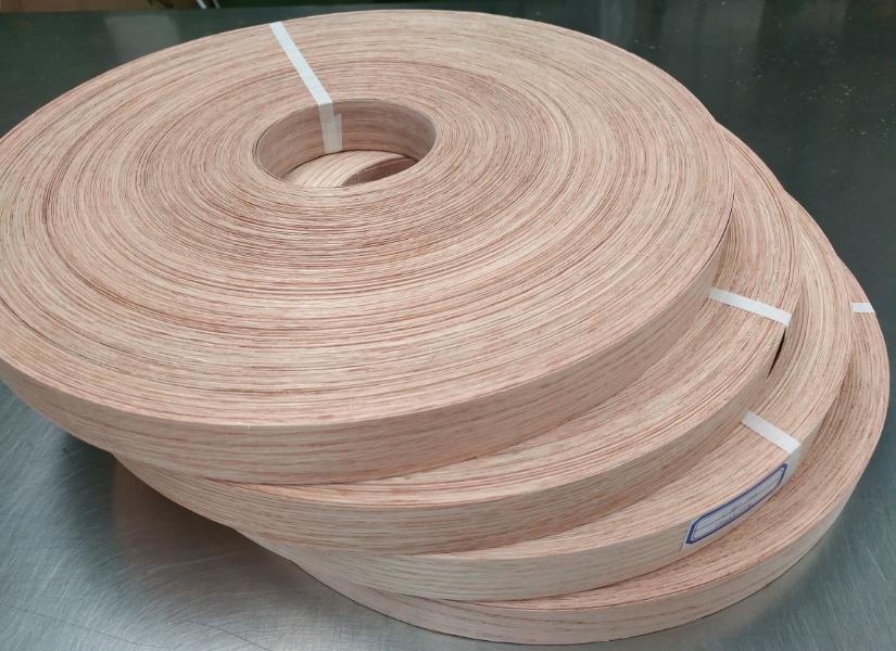 Red Oak Veneer Edgebanding Edge Banding Tape Wood