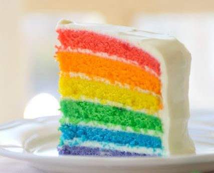 Recetas Torta Arcoiris Rainbow Cake Mi Nuevo Hogar