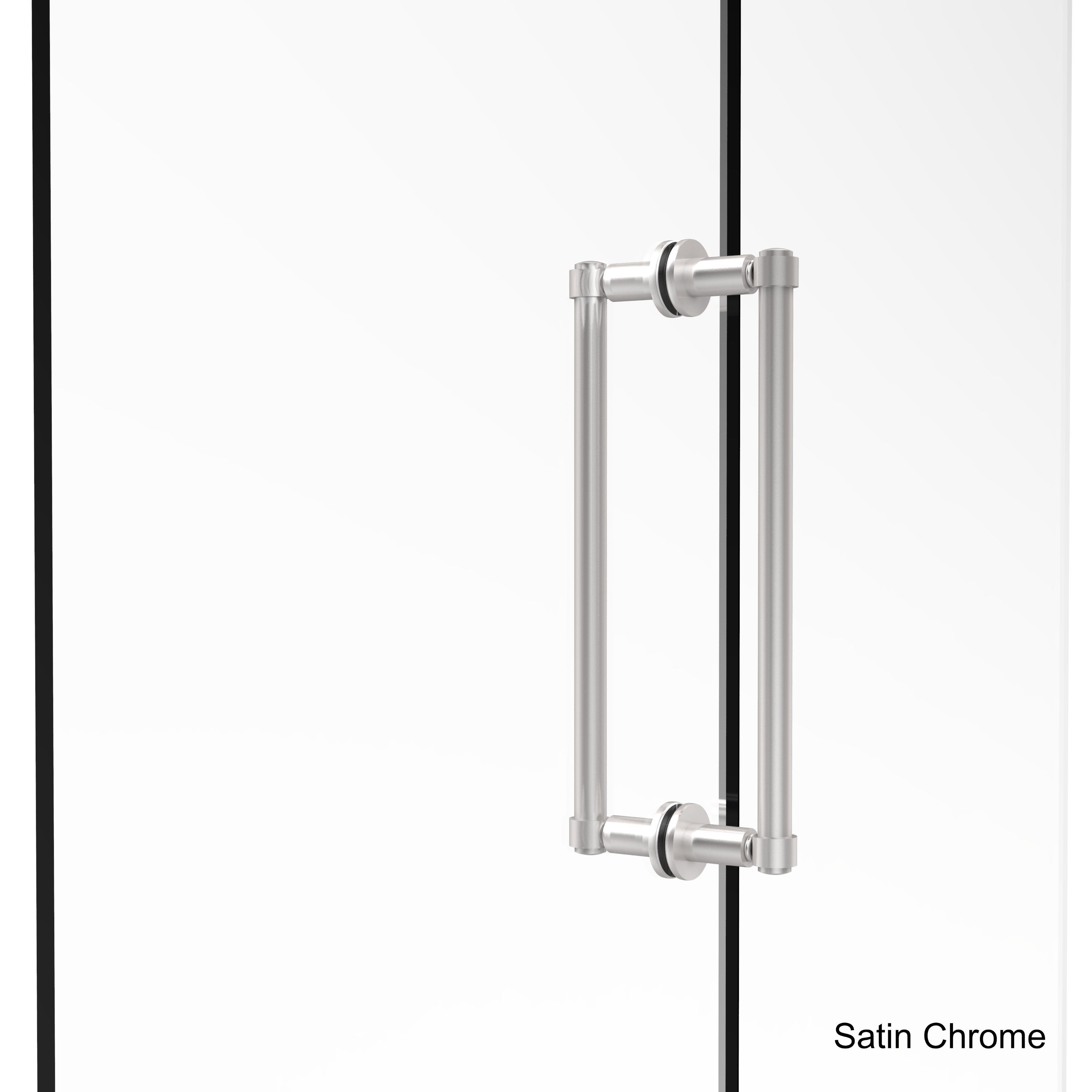 Allied Br Contemporary 12 Inch Back To Shower Door