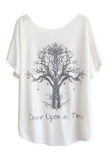 Blanche Margarita Shirt T Souris Chauve Femme Luna à et Manche Motif fqXwt5t6