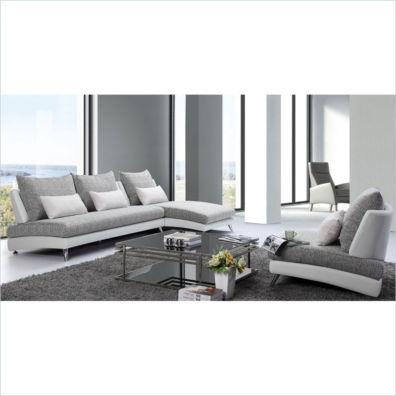Magnificent Tosh Furniture F891 Modern Sectional Sofa And Chair In Pdpeps Interior Chair Design Pdpepsorg