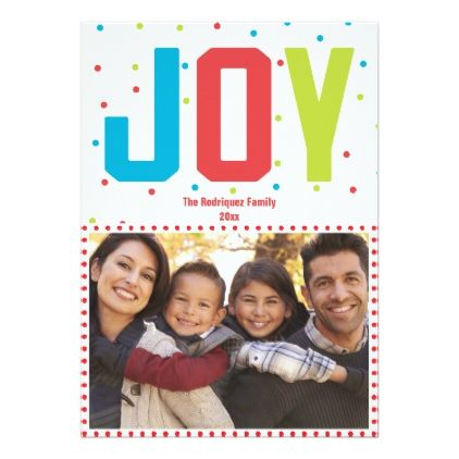 Create Your Own Family Holiday Photo Card
