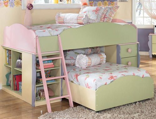 Blossom Twin Low Loft Bed Cheap Bunk Beds Low Loft Beds