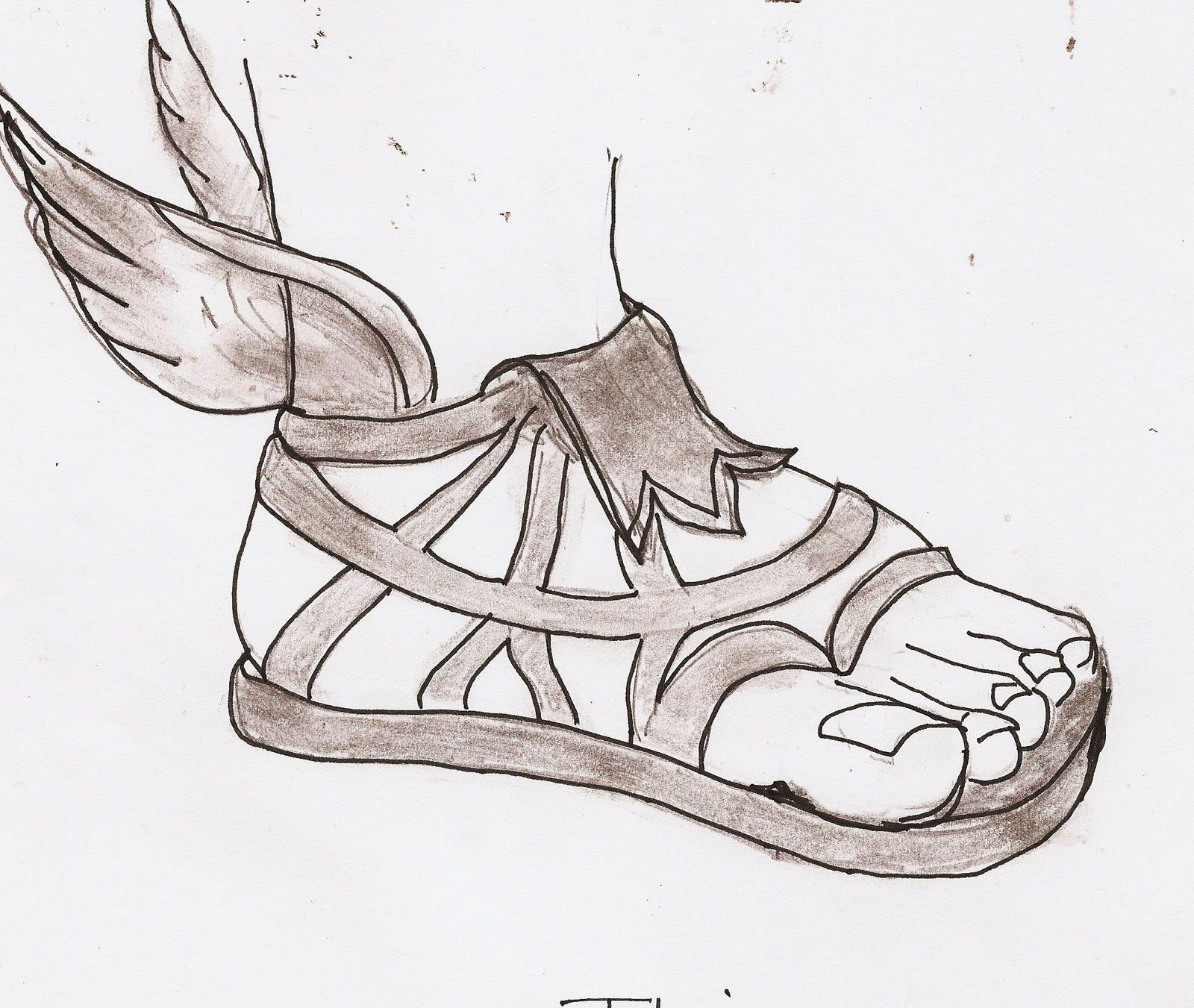 Hermes sandals dance shoes - History Of Sandals Series Of Posts With Description And Sketches Of Diferent Types Of Footwear In Ancient Greece Sandals Assorted Krepis Kothornos
