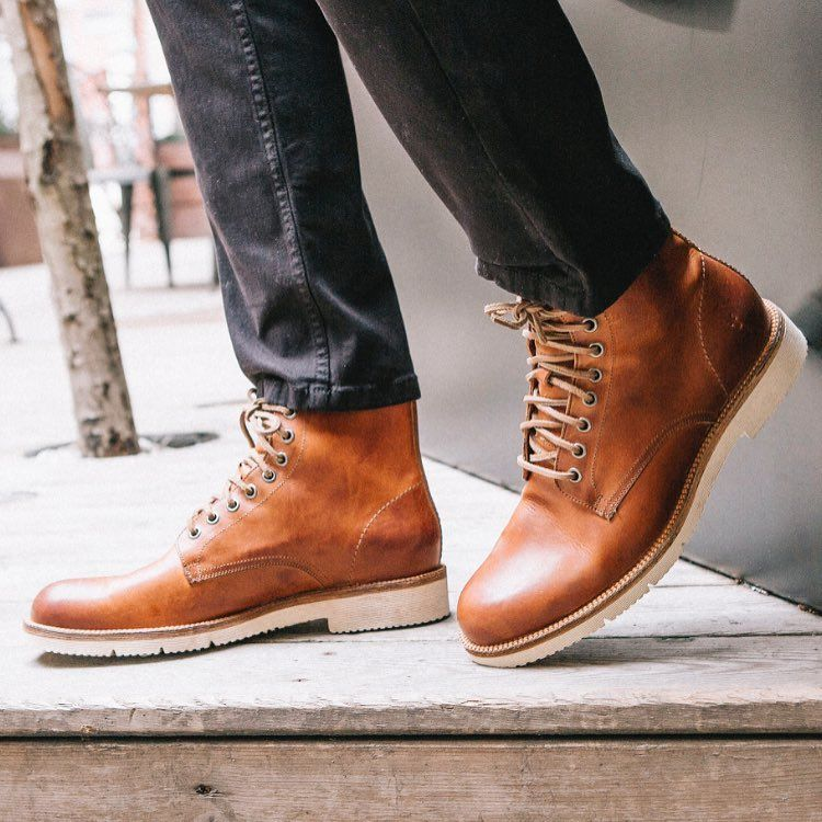 b6be5e5ab A lightweight boot for Spring  the Eric Lace Up Boots