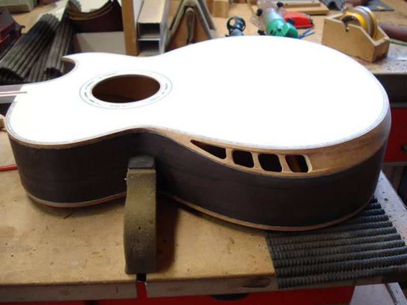 Build Thread Brazilian Rosewood Swiss Alpine Spruce Custom Design Crossover Acoustic Page 7 The Acou Guitar Building Guitar Design Custom Acoustic Guitars