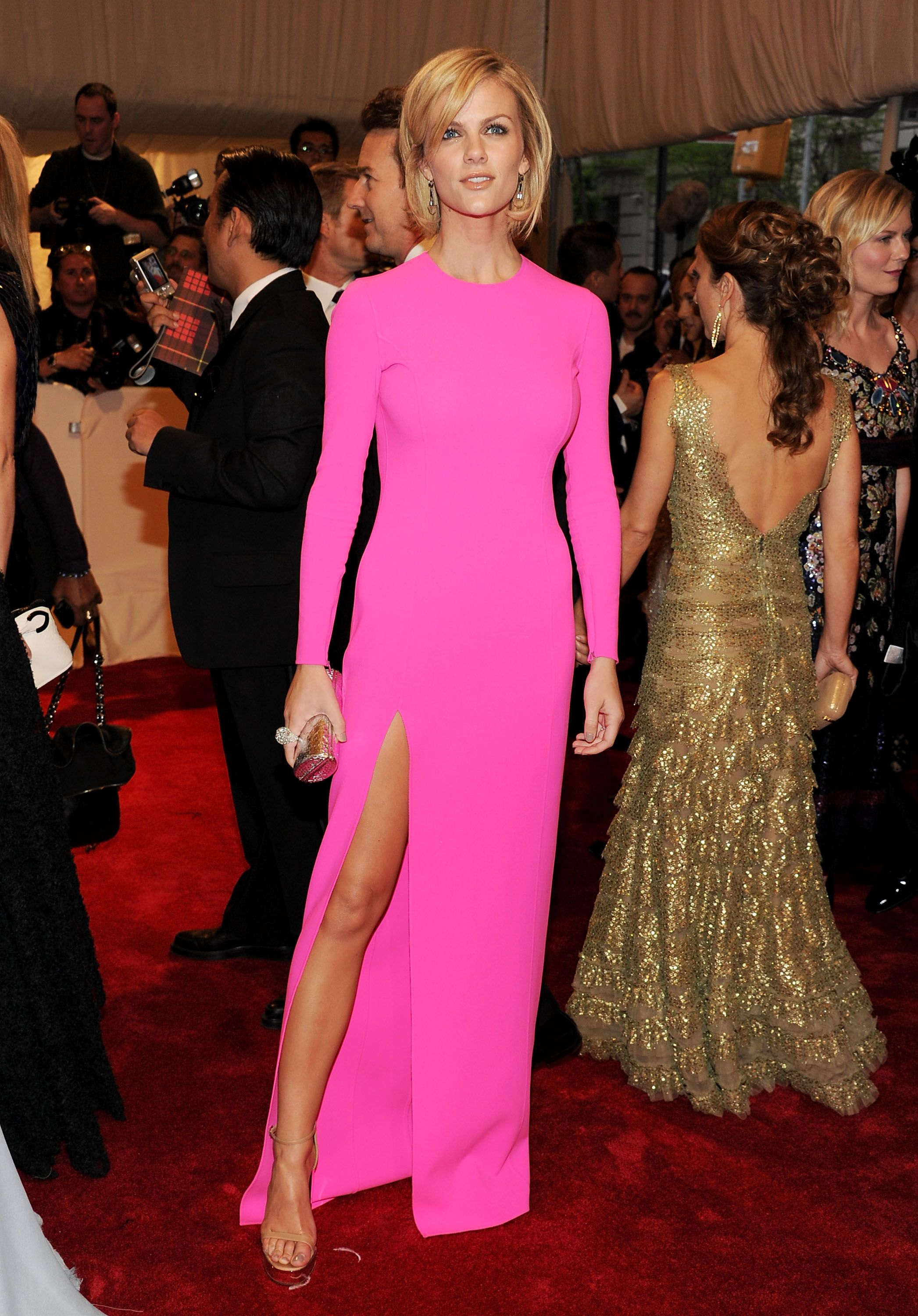 Brooklyn Decker wears Michael Kors at the 2011 Met Gala! | toofab ...