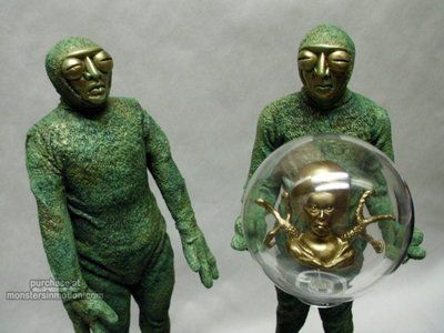 Invaders From Mars Drones and Supreme Leader Resin Model ...