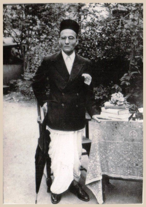 Image result for Vinayak Damodar Savarkar.