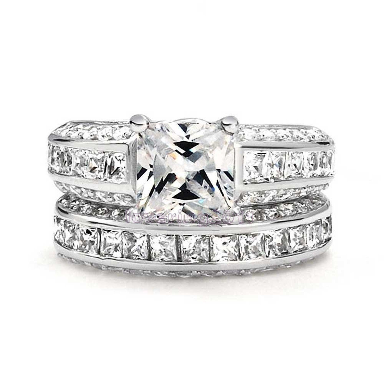 My Diamond Story Bridal Set, 18k White Gold Certified