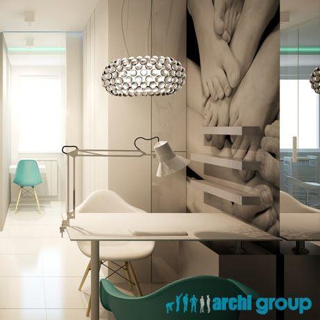 Beauty Parlor Design In Bytom POLAND Archi Group Gabinet