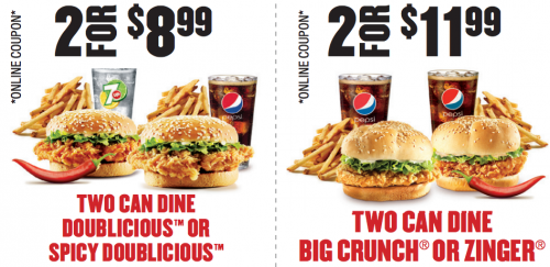 KFC Meal Deals for 5 and app coupons Exp. August 7 2016