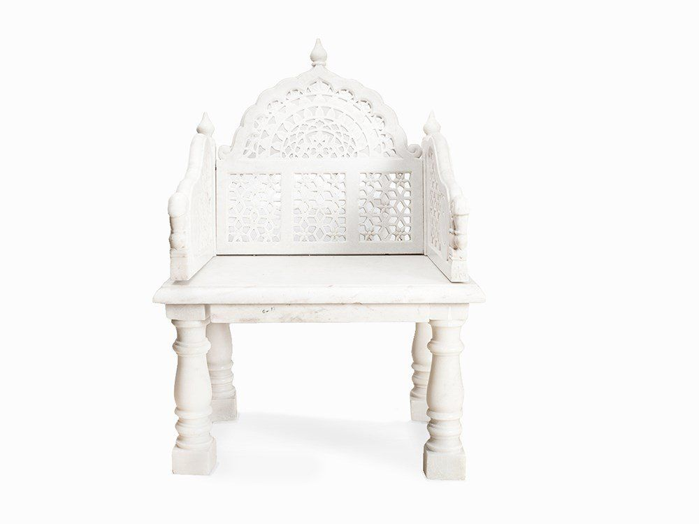 Pin By India Brody On Anglo Indian Cottage Marble Throne Home Decor
