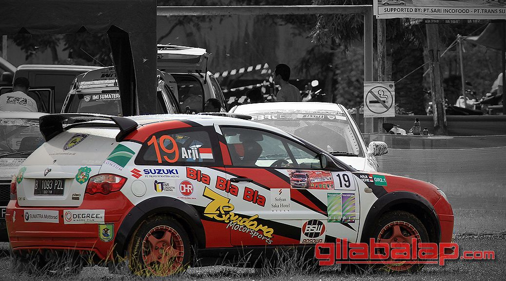 Rally Indonesia From Medan
