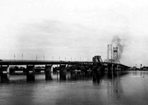 Florida Memory Acosta Bridge In Jacksonville Florida Florida