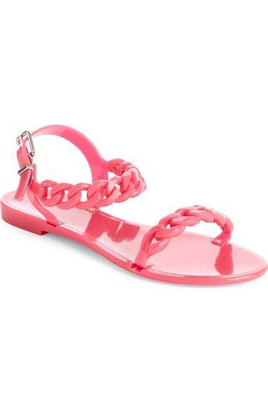 8a9a11f33ffd Givenchy  Nea Chain  Logo Jelly Sandal (Women)
