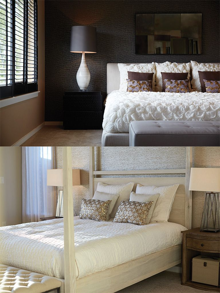 Master bedroom lighting  Master Bedroom  LightDark  MainVue Homes  Master Bedroom