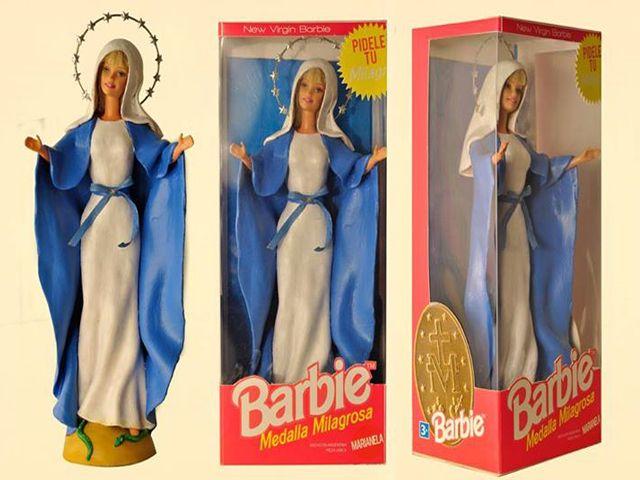 Barbie de la Virgen y Ken de Jesús desatan polémica en Argentina