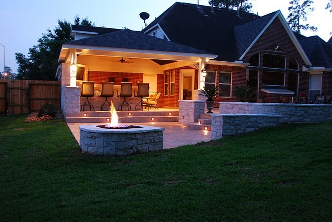 Get ready for cooler weather by adding a new fire pit. It adds atmosphere and elegance to your outdoor space and stretches your backyard entertaining long into the evening. Who wants to head inside to watch TV when you can roast marshmallows and eat s'mores?