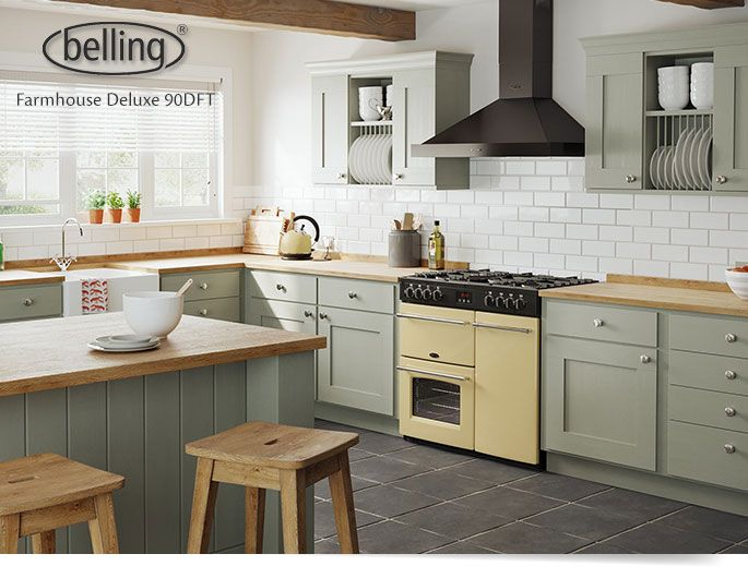 Belling Farmhouse Deluxe Vs Stoves Richmond Blog Bellinguk Fair Kitchen Design Richmond Design Decoration