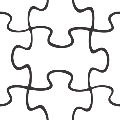 Puzzle Template Piece PNG Image