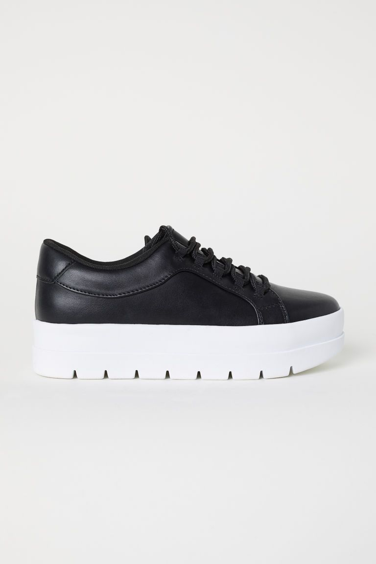 5dce1c8726e78 Tenisky s hrubou podrážkou | s | Dámske topánky, Tenisky a Čierna