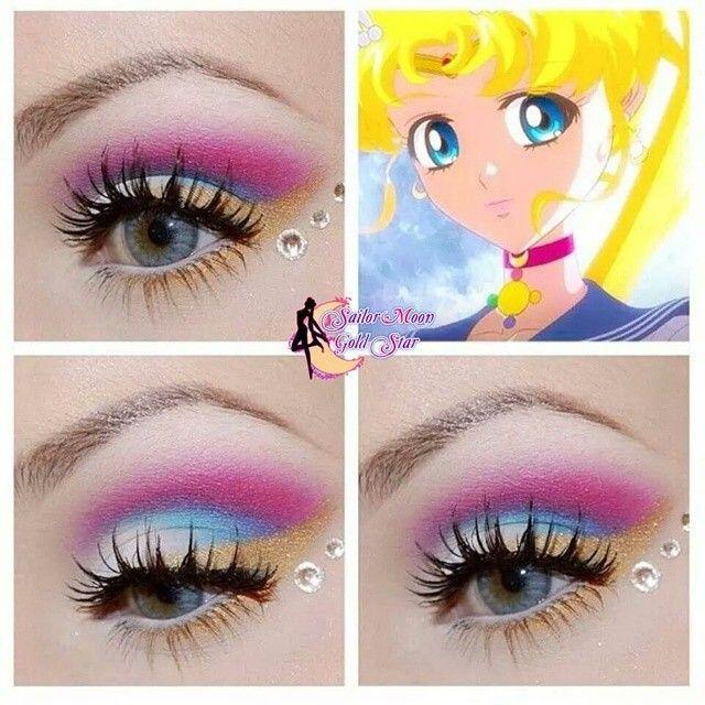 Sailor Moon Makeup Sailor Moon Makeup Anime Makeup Makeup Inspiration