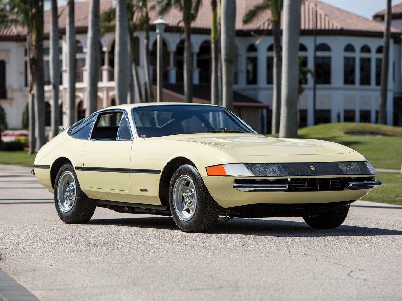 1969 Ferrari 365 Gtb  4 Daytona Berlinetta By Scaglietti