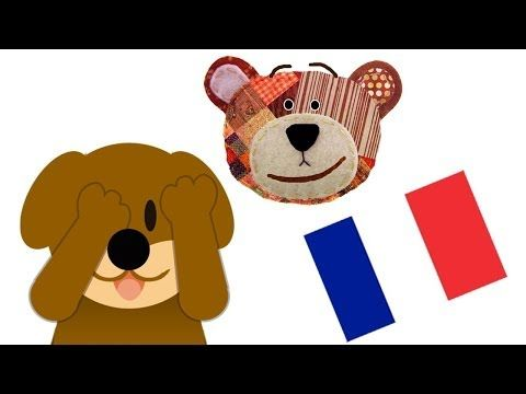 Riddle for Kids to Learn the Animals in French - Guess who is hiding - YouTube