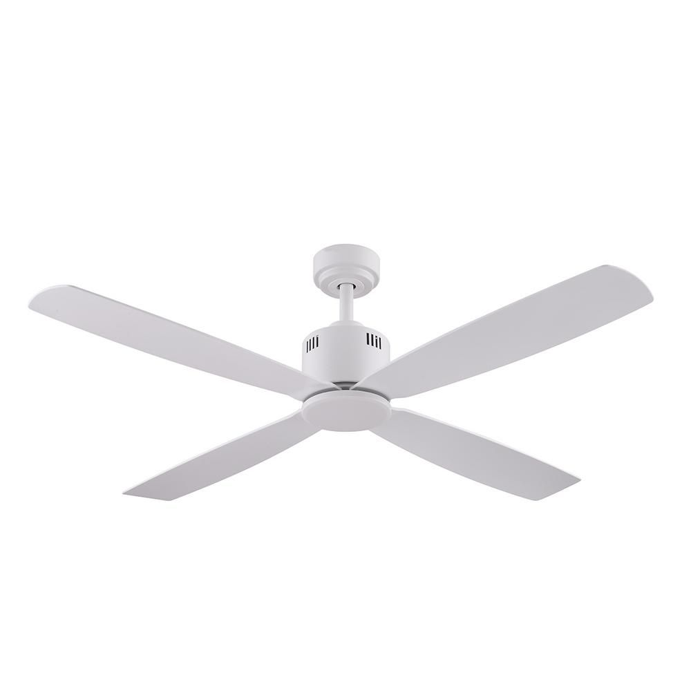 Home Decorators Collection Kitteridge 52 Inch Ceiling Fan In White White Ceiling Fan Ceiling Fan White Ceiling