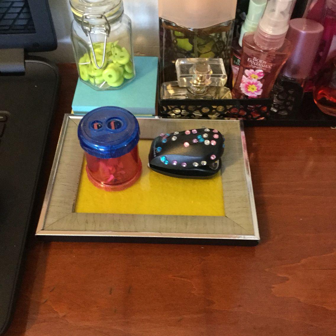 DIY white board/tray