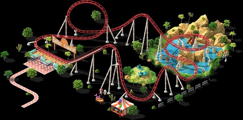 Latest 851 423 Roller Coaster Roller Fair Grounds