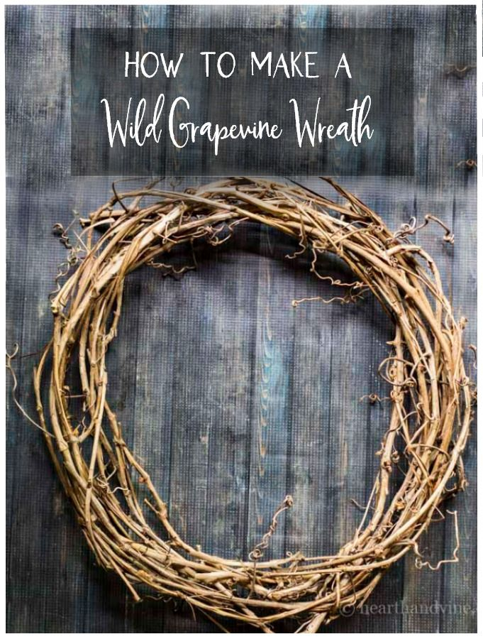 Photo of How to Make a Wild Grapevine Wreath