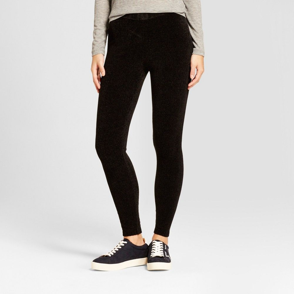 099fe91d2f996 Women's Chenille Leggings - Mossimo Supply Co. Black S | Products ...