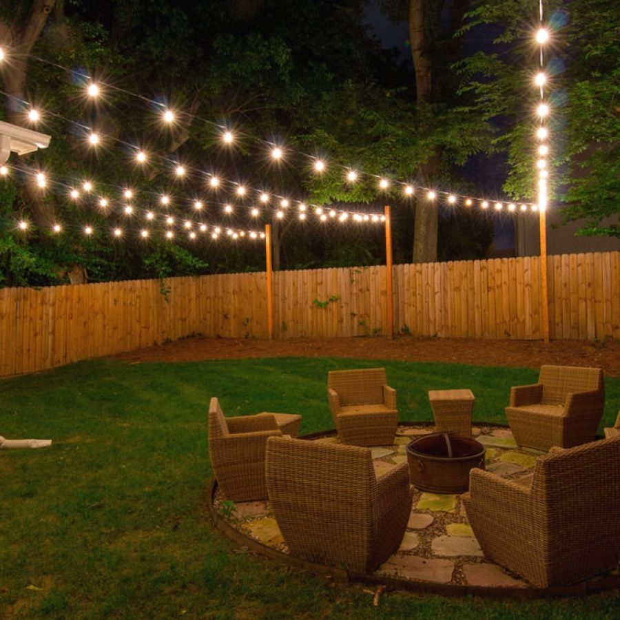 Easy Patio Lighting Designs To Create Yourself To Add Beauty To
