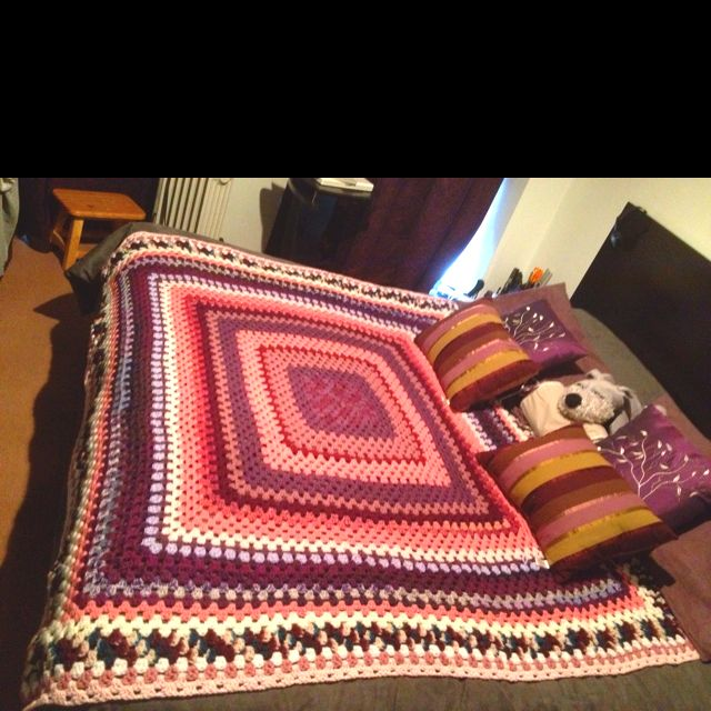 My blanket i made it