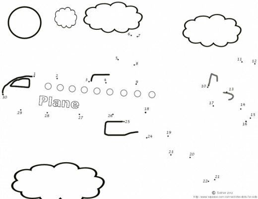 Free Printable Connect The Dots Activity Sheets