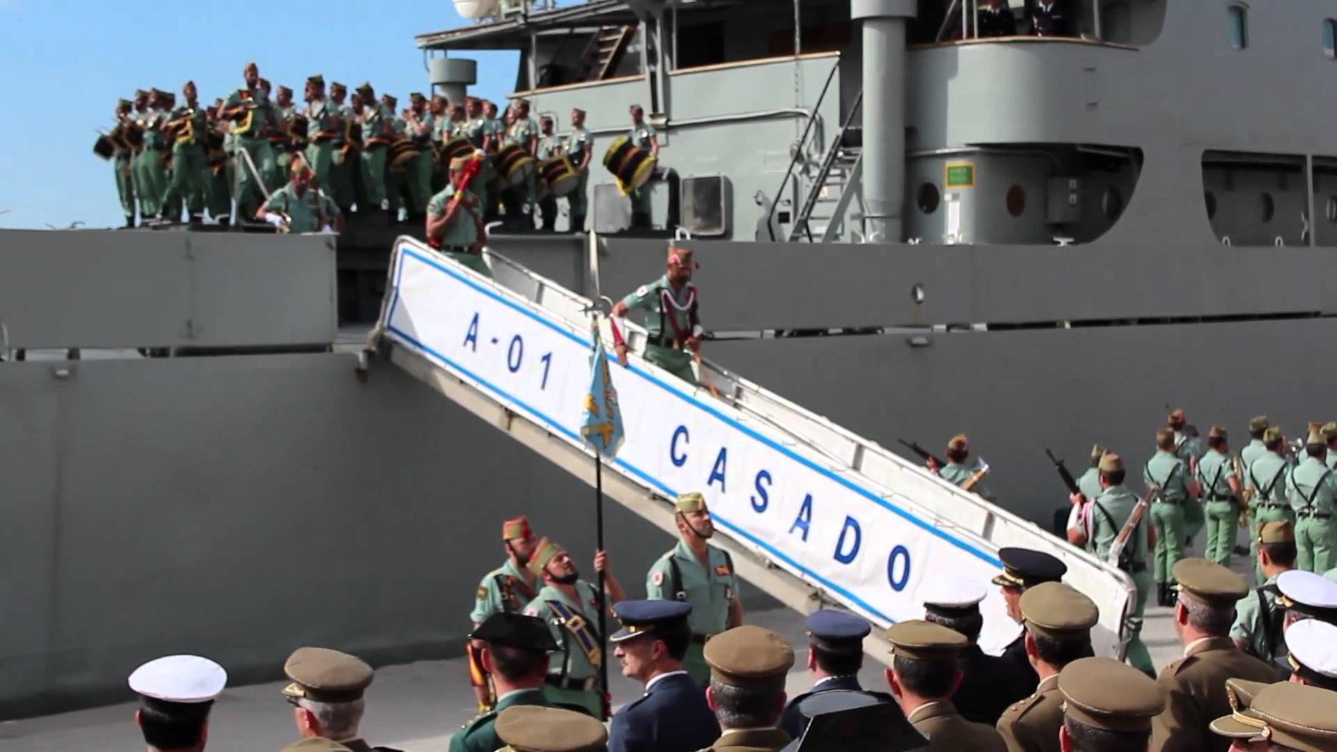 Desembarco Legion Semana Santa Malaga 73tv Semana Santa Málaga La Legion